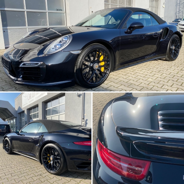 Porsche 911 Turbo S neu aufbereitet
